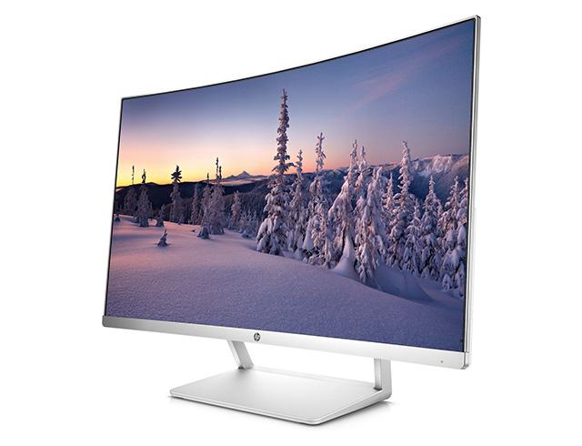 """Εικόνα Curved Monitor 27"""" HP Z4N74AA με ανάλυση Full HD"""
