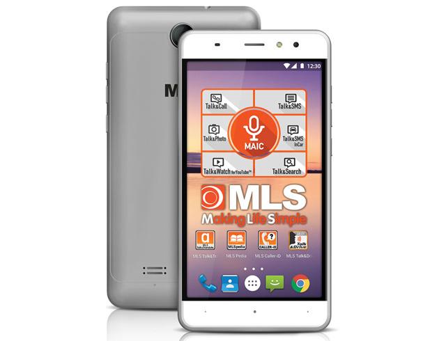 """Εικόνα Smartphone 5.5"""" MLS ALU 3G Dual SIM - Silver"""
