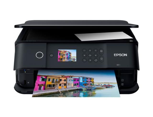 Εικόνα Έγχρωμο Πολυμηχάνημα EPSON Expression Premium XP-6000 - Α4 - Εκτύπωση, Σάρωση, Αντιγραφή - 5760 x 1440 dpi - 32 ppm - USB, WiFi - Δυνατή η εκτύπωση σε κατάλληλα CD και DVD