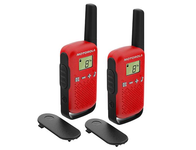 Εικόνα Walkie Talkie Motorola Talkabout T42 Twin Pack - Red