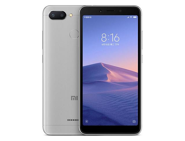 """Εικόνα Smartphone 5,45 """" Xiaomi RedMi 6 32GB/3GB Dual SIM - Black"""