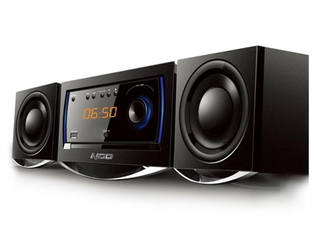 Εικόνα Mini Hi-Fi NOD MHS-001BL με CD player, FM ράδιο, σύνδεση Bluetooth και αναπαραγωγή από USB stick