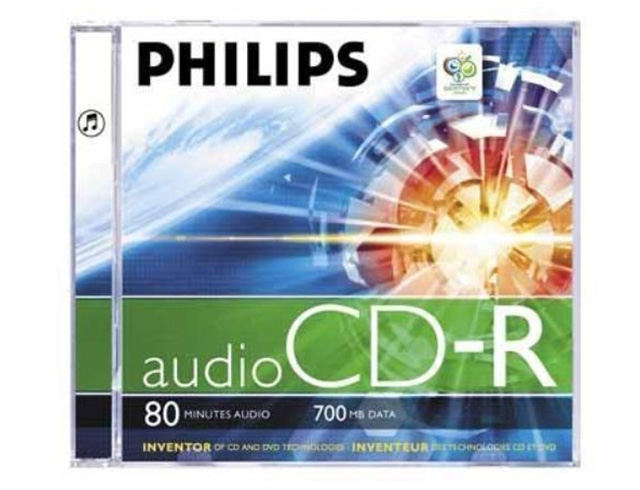 Εικόνα Philips CD-R80 Audio Jewel