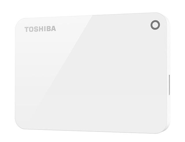 """Εικόνα Εξωτερικός δίσκος Toshiba Canvio Advance PMT750BI 1TB 2.5"""" - White"""