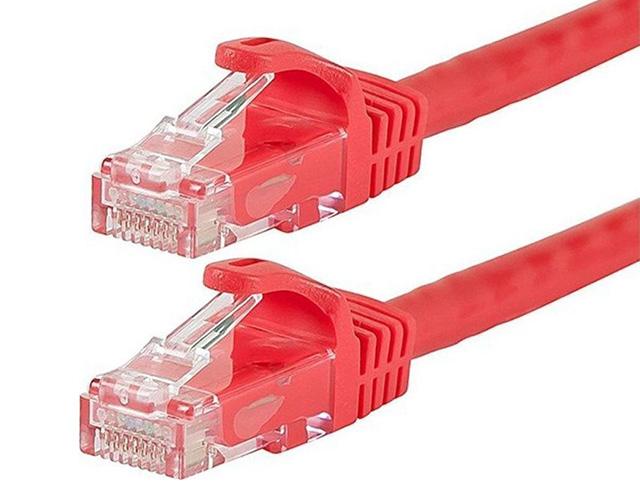 Εικόνα Καλώδιο Powertech U/UTP Cat.5e 1m (CAB-N048) - Red