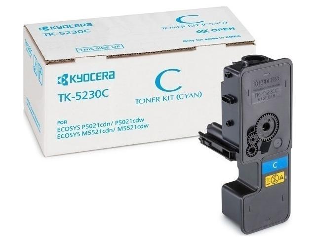 Εικόνα Toner Laser Kyocera Mita TK-5230C Cyan HC - 2,2K Pgs