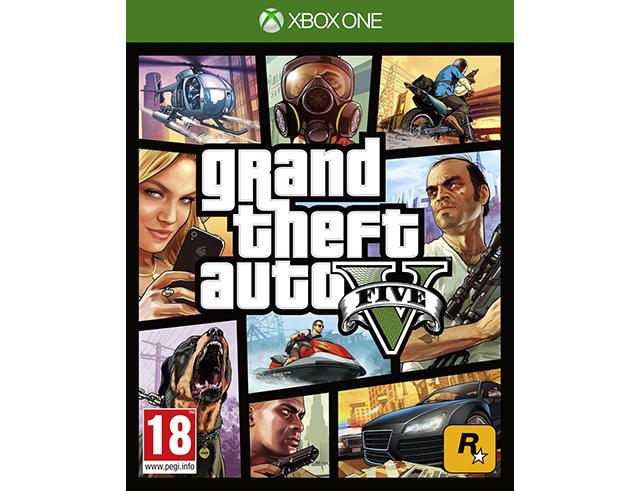 Εικόνα Xbox1 Grand Theft Auto five-V