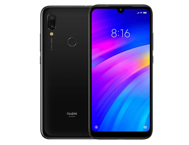 """Εικόνα Smartphone 6.2"""" Xiaomi Redmi 7 Dual Sim (32GB) -  Black"""