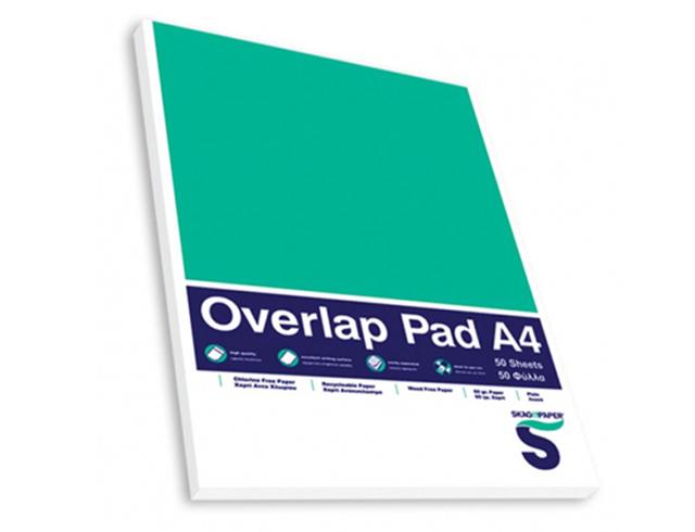Εικόνα Μπλοκ Σημειώσεων SKAG A4 Με Εξώφυλλο Λευκό 60 gr. (50 Φύλλα) (SKA120555)