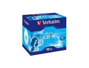 Εικόνα CD-R VERBATIM VER43365 MUSIC 10PK J.C