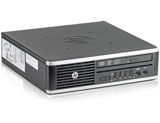 Εικόνα HP Compaq Elite 8300 Ultra Small desktop (USDT) - Intel Core i3 3ης γενιάς - 4GB RAM - 500GB HDD - DVD - Windows 10 Home