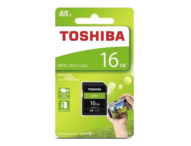Εικόνα Sd Card Toshiba 16gb R100 N203
