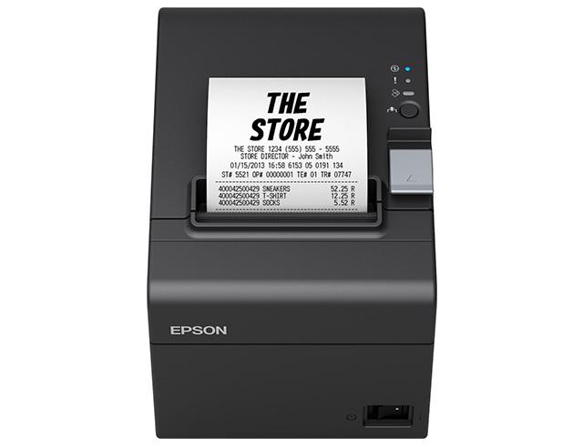 Εικόνα Θερμικός εκτυπωτής αποδείξεων Epson TM-T20iii (011) - Black/Grey