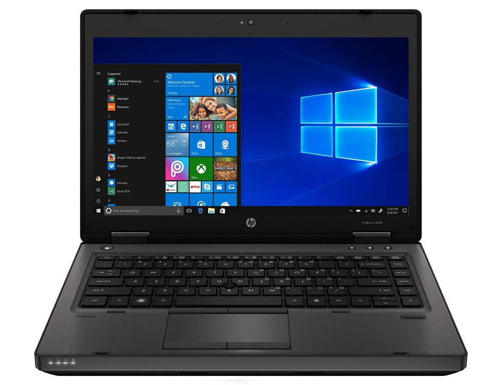 """Εικόνα HP ProBook 6460B - Οθόνη 14"""" - Intel Celeron B810 - 4GB RAM - 250GB HDD - Χωρίς οπτικό δίσκο - Webcam - Windows 10 Home"""
