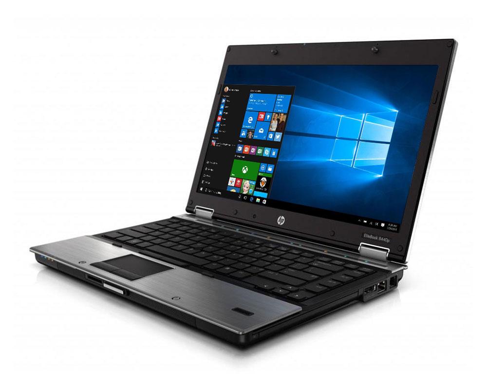 """Εικόνα HP EliteBook 8440P - Οθόνη 14"""" - Intel Core i5 1ης γενιάς 520M - 4GB RAM - 250GB HDD - DVD - Χωρίς Webcam - Windows 10 Pro"""