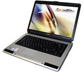 Εικόνα NOTEBOOK TOSHIBA L40 ΜΕ CELERON 540, 80GB HDD ΚΑΙ WINDOWS VISTA BASIC (PAINTED BLACK)