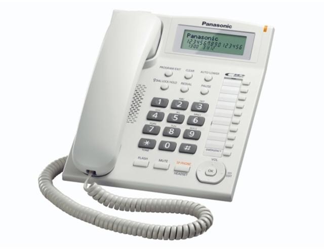 Εικόνα Τηλεφωνική Συσκευή Panasonic KX-TS880EXW white