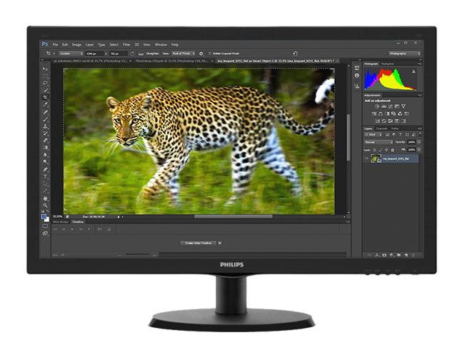 """Εικόνα Philips 223V5LSB 21.5"""" Led Full HD και 5Ms Στην Καλύτερη Τιμή στην Ελλάδα."""