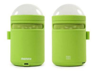 Εικόνα Bluetooth Ηχείο Remax RB-MM με Φως LED - Green