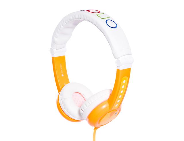 Εικόνα Ακουστικά για παιδιά Onanoff Buddyphones Foldable με μέγιστη ένταση 85dB - Orange