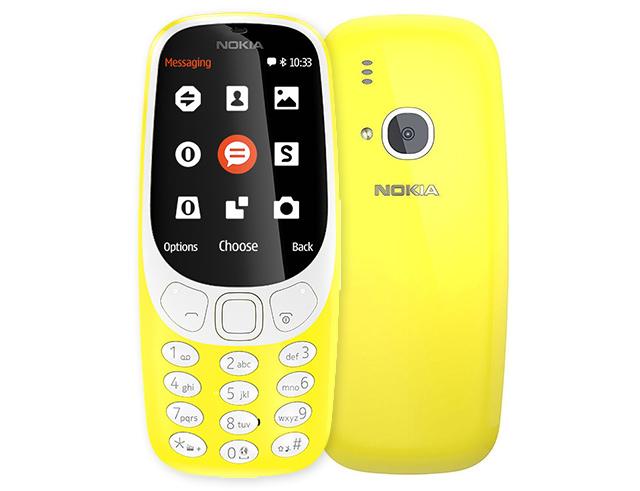 """Εικόνα Κινητό Τηλέφωνο Nokia 3310 2.4"""" Dual Sim Κίτρινο"""