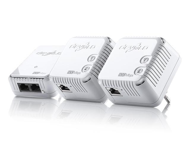 Εικόνα Powerline Devolo 500AV Wireless Network Kit (3pcs) 9096