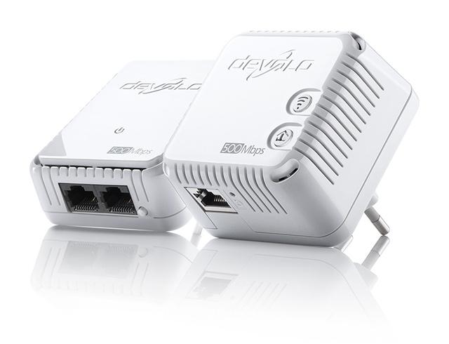 Εικόνα Powerline Devolo 9089 500 WiFi Starter Kit (2 τεμ)