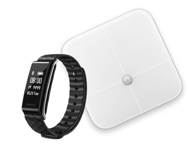 Εικόνα Activity Tracker Huawei Band A2 + Έξυπνη ψηφιακή ζυγαριά Huawei AH100