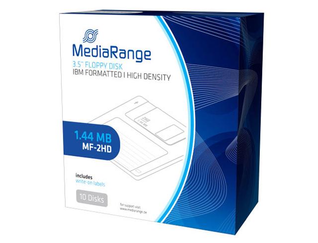 Εικόνα MediaRange 3.5 Floppy Disk 1.44MB/MF-2HD Pack x 10 (MR200)