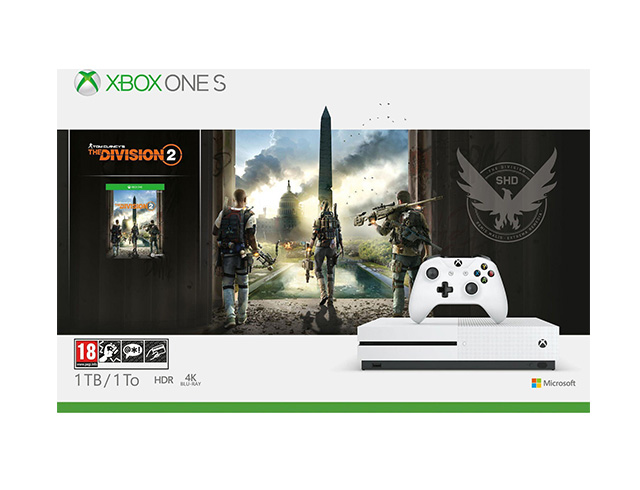 Εικόνα Κονσόλα Microsoft Xbox One S - 1TB Tom Clancy's The Division 2