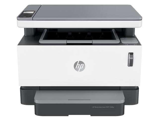 Εικόνα Μονόχρωμο Πολυμηχάνημα HP Neverstop Laser MFP 1200w - Α4 - Εκτύπωση, Σάρωση, Αντιγραφή - 600 x 600 dpi - 20 ppm - USB 2.0/WiFi - Apple AirPrint, HP ePrint