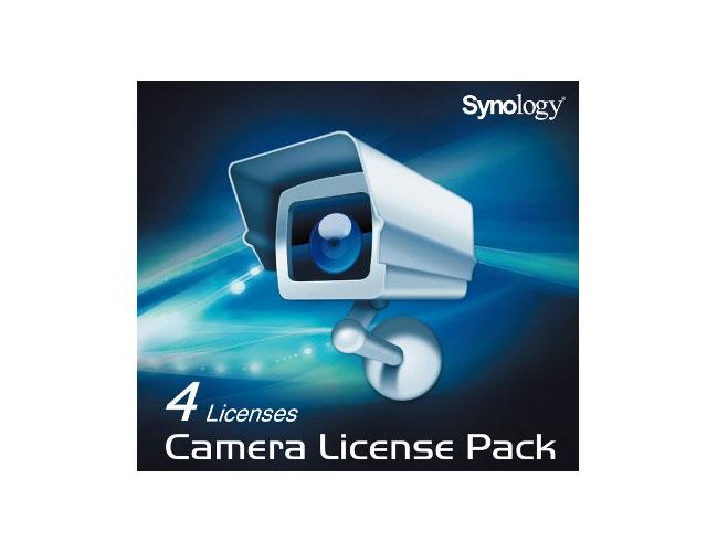 Εικόνα Πακέτο αδείας Synology CAMPACK/4 για Camera Synology 4