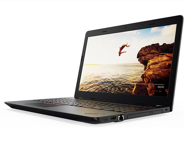 """Εικόνα Lenovo Thinkpad E570 - Οθόνη 15.6"""" - Intel Core i3 7ης γενιάς 7100U - 4GB RAM - 500GB HDD - DVD - Webcam - Windows 10 Pro - US Keyboard"""