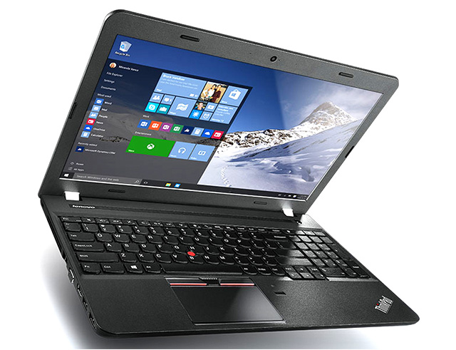 "Εικόνα Lenovo ThinkPad E560 - Οθόνη 15.6"" - Intel Core I3 6ης γενιάς 6100u -  4GB RAM - 500GB HDD - DVD - Webcam - Windows 10 Pro - US Keyboard (Full Size)"