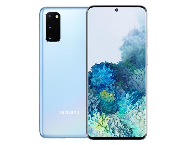"""Εικόνα Smartphone 6.2"""" Samsung Galaxy S20 (128GB) - Cosmic Blue"""