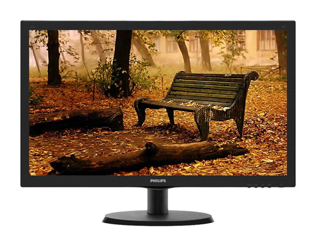"""Εικόνα Monitor 21.5"""" Philips 223V5LHSB/00 - Ανάλυση Full HD - HDMI, VGA"""