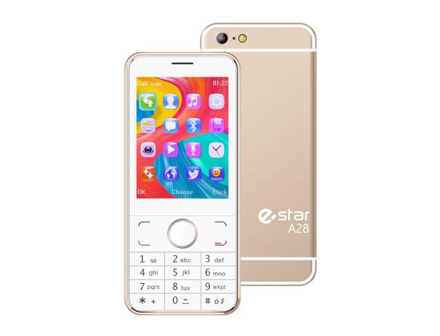 Εικόνα Κινητό απλής χρήσης eStar A28 Dual Sim - Gold