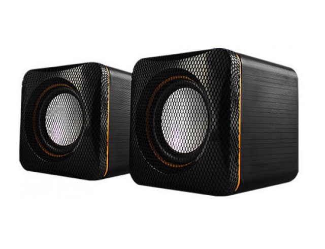 Εικόνα U-CUBE USB POWERED 2.0 SPEAKERS YELLOW