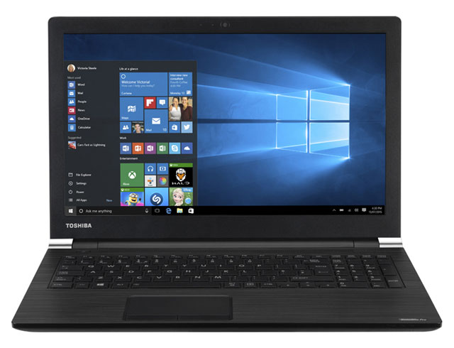 "Εικόνα Toshiba Satellite Pro A50-C-23P - Οθόνη HD 15.6"" - Intel Core i5 6200U - 4GB RAM - 500GB HDD - Windows 10 Home"