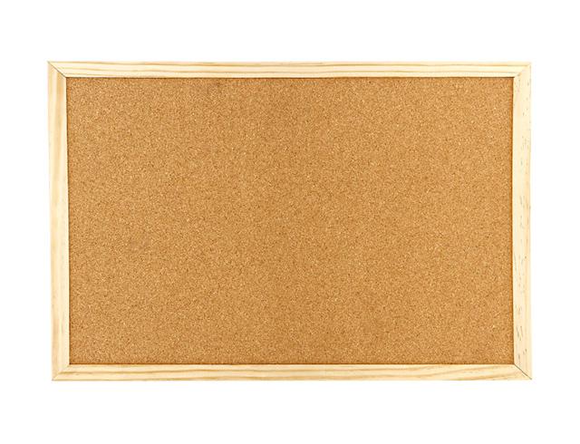 Εικόνα Πίνακας φελλού Black Red 30x40 διπλής όψης