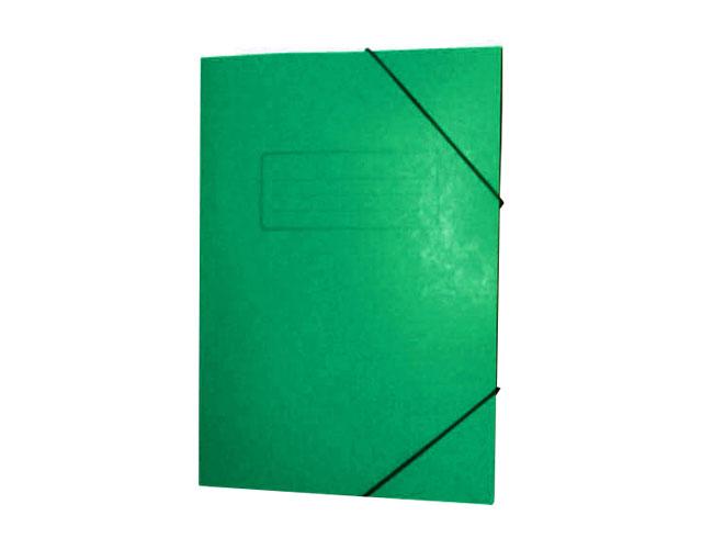 Εικόνα Ντοσίε Prespan με λάστιχο 25x35 - Πράσινο