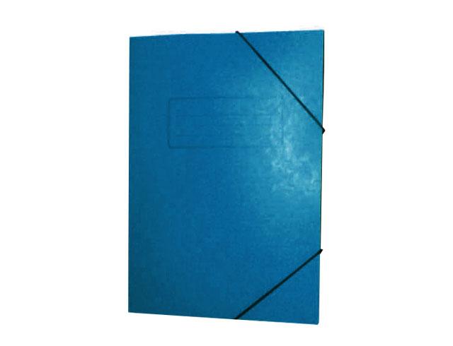 Εικόνα Ντοσίε Prespan με λάστιχο 25x35 - Μπλε