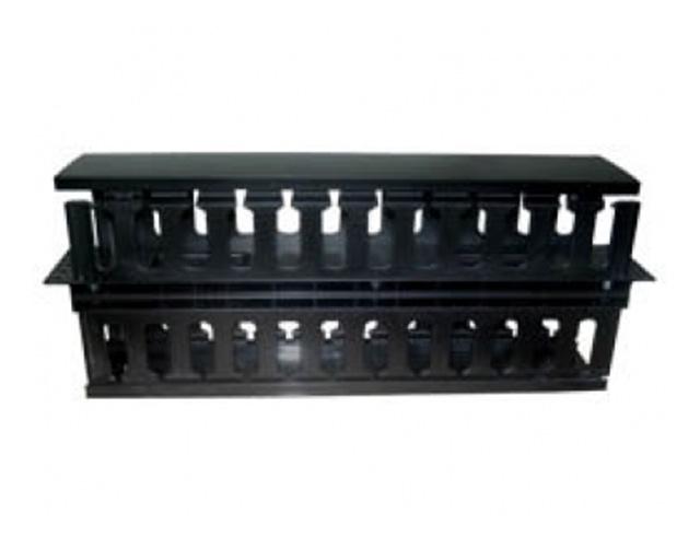 Εικόνα Rack Cable Manager 2U Διπλής όψης πλαστικό SFW