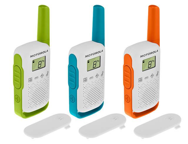Εικόνα Walkie Talkie Motorola TalkAbout T42 Triple Pack 4km