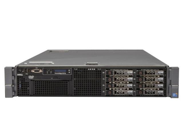 Εικόνα Server Dell PowerEdge R710 - 2x Hexa Core Intel Xeon E5645 - 64GB RAM - 5x 300GB HDD - 2x PSU