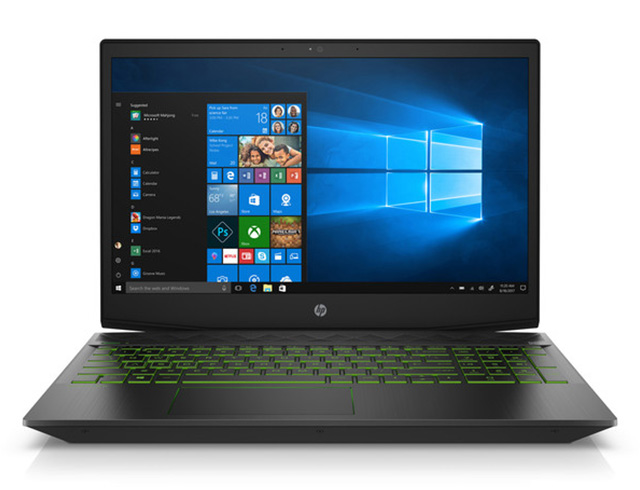 "Εικόνα Gaming Laptop HP Pavilion 15-cx0018nv - Οθόνη Full HD 15.6"" - Intel Core i7-8750H - 12GB RAM - 1TB HDD + 128GB SSD - 4GB VGA - Windows 10 Home"