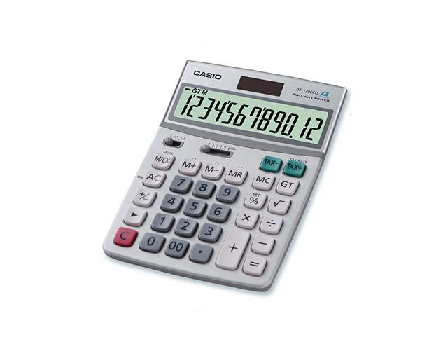 Εικόνα Αριθμομηχανή γραφείου Just Desk Casio DF-120ECO