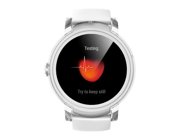 Εικόνα Smartwatch TicWatch E με Google Wear OS - Ice White