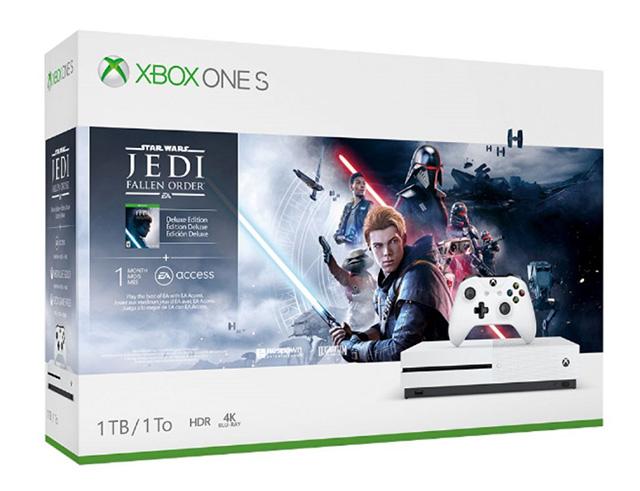 Εικόνα Κονσόλα Microsoft XBOX One S - 1TB Star Wars: Jedi Fallen Order