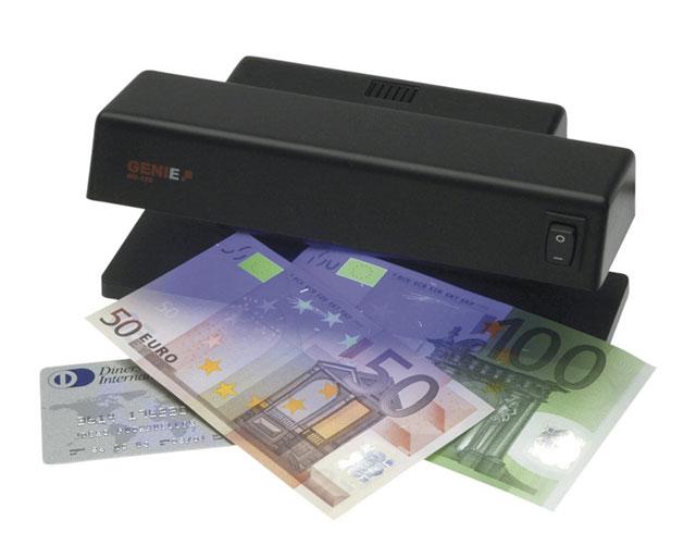 Εικόνα Ανιχνευτής πλαστών χαρτονομισμάτων Genie MD 188 με λάμπα UV.